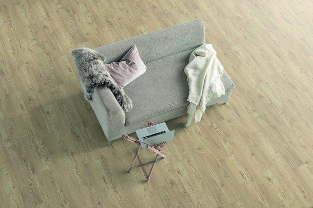 Laminátová podlaha obývací pokoj