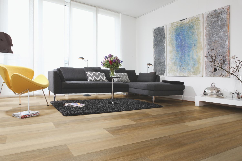 vinylová podlaha obývací pokoj
