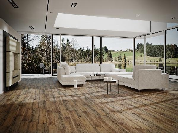 podlaha obývací pokoj
