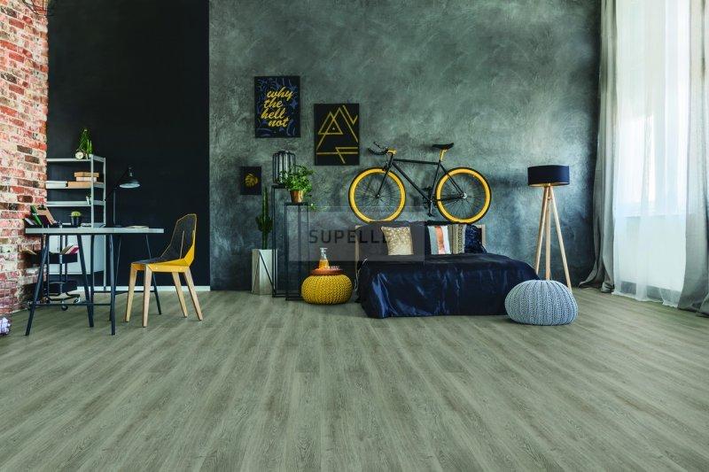 Tichá podlaha v ložnici
